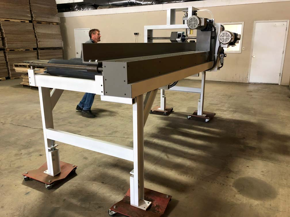 Smith Machine Worx - Conveyor Side View