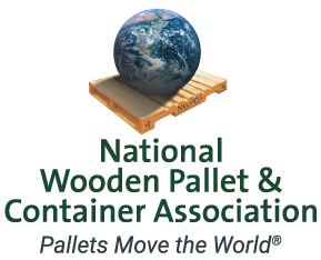 National Wooden Pallet & Container Association Logo - Pallets Move the World
